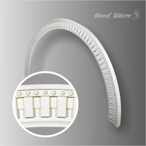 Polyurethane Decor Arched Moldings Trim | Ceiling Rings By GoodWare Décor