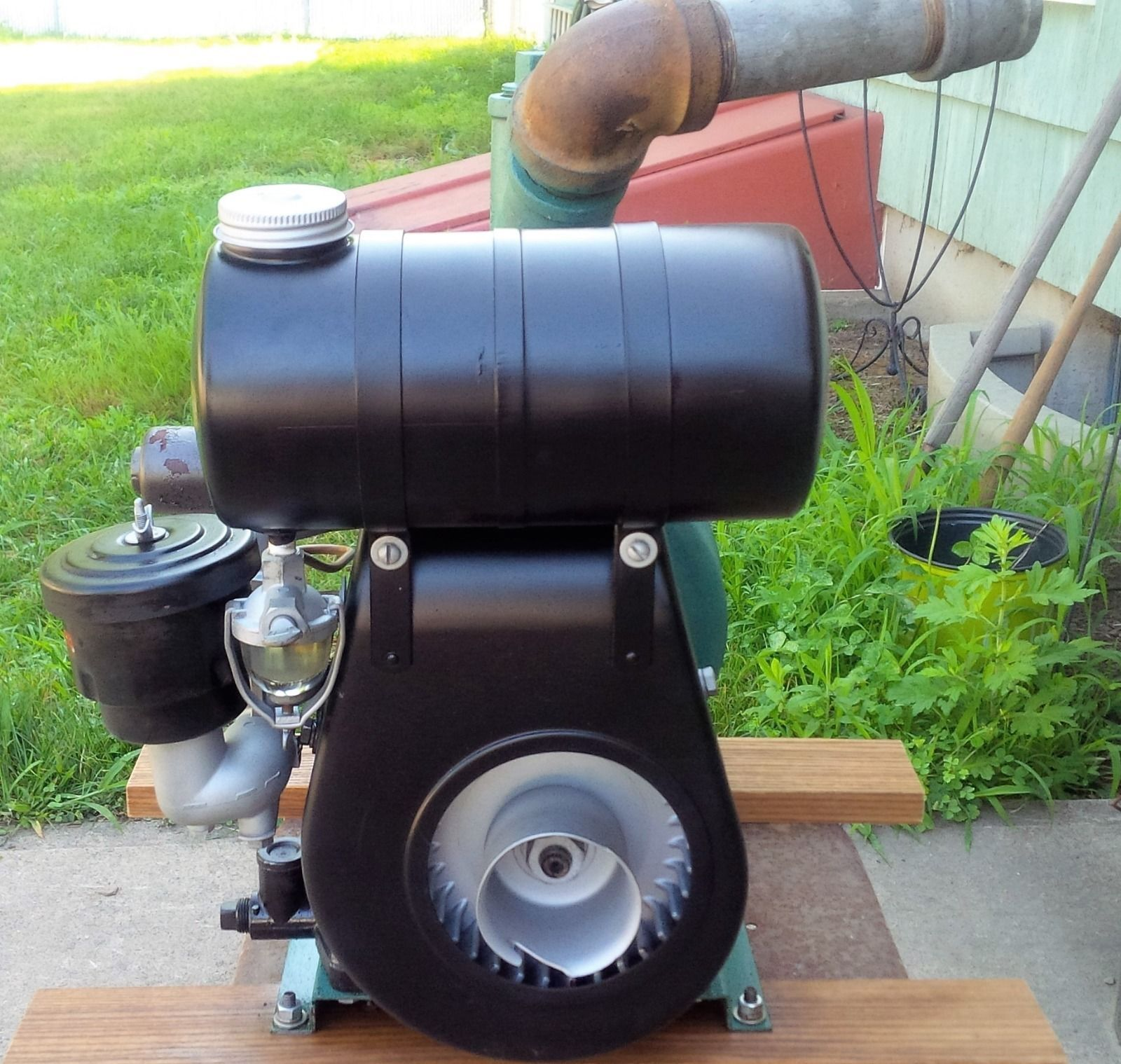 Briggs And Stratton Lawn Mower Engine Diagram Antique Vintage Model Np Fairbanks Morse Pump Ebay