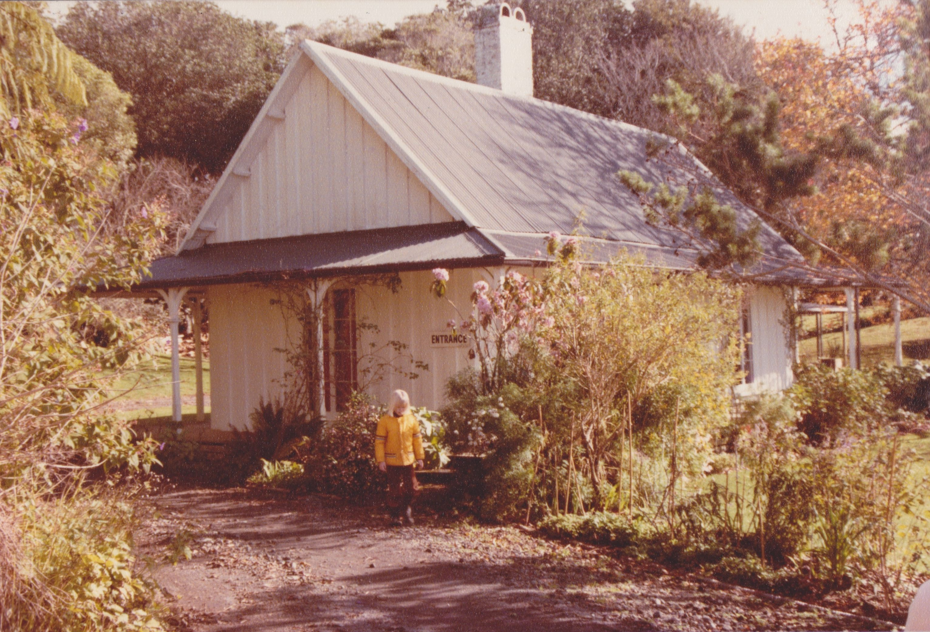 Hurworth Cottage near New Plymouth in 1985. Beautiful
