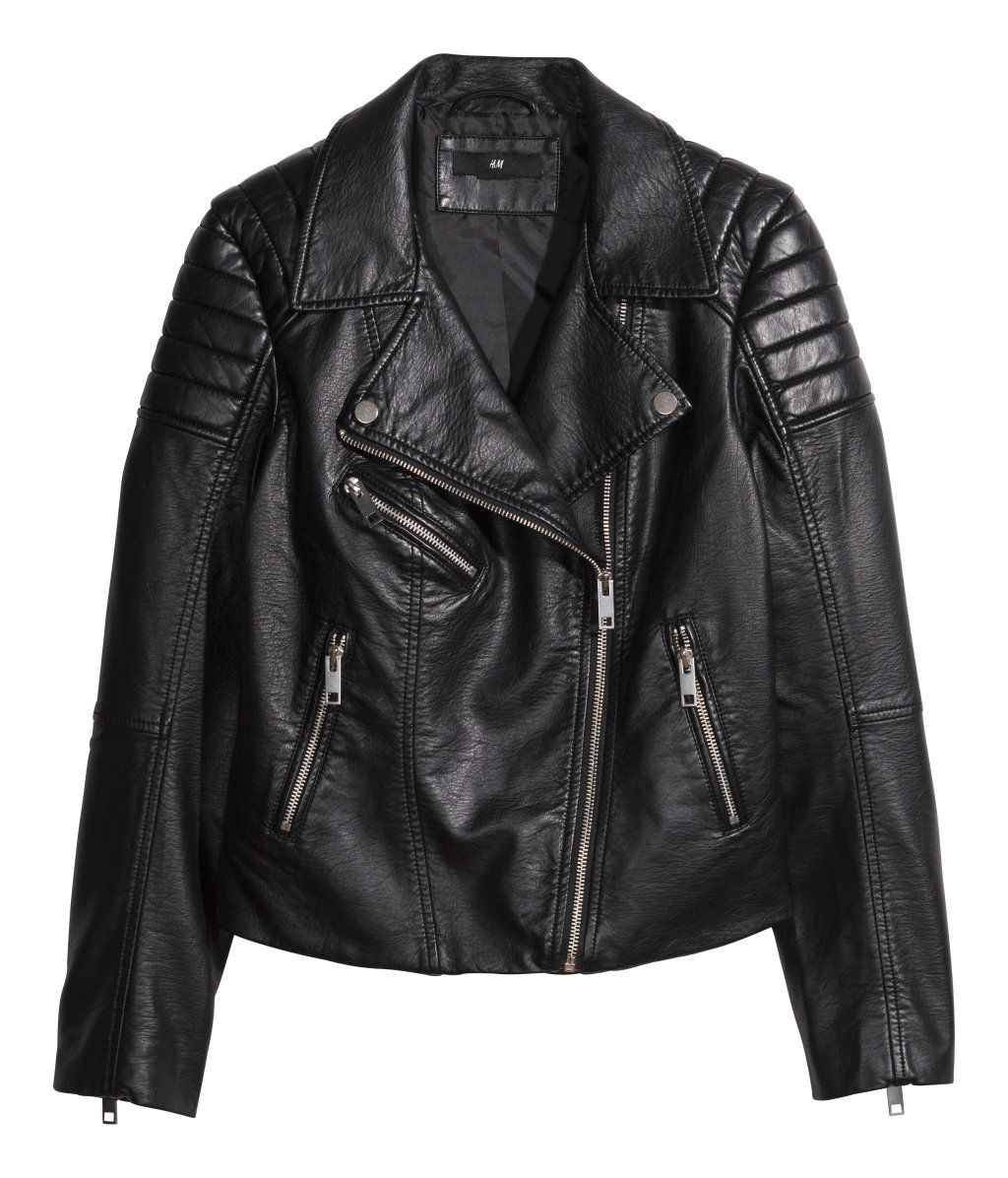 Product Detail H&M GB Best leather jackets, Leather