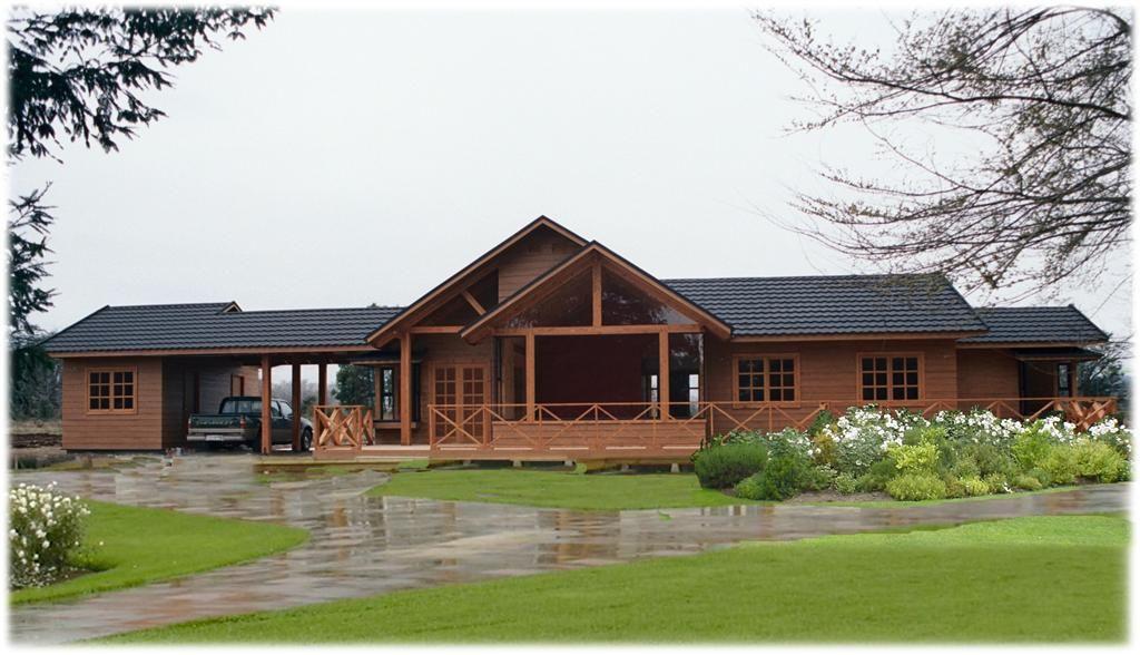 Smithouse casa prefabricada madera pinterest - Cabanas casas prefabricadas ...
