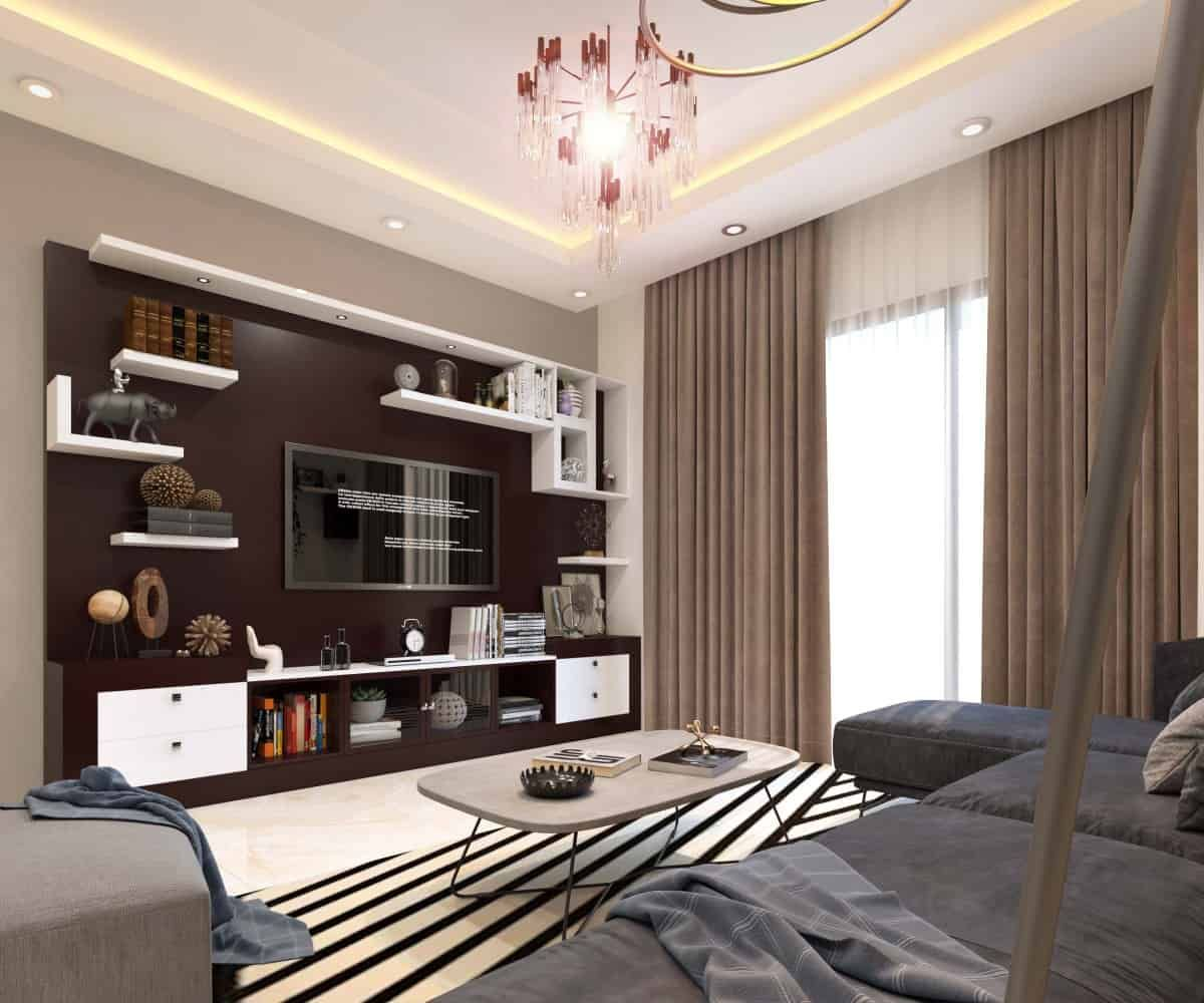 Living Room Interior Designers In Bangalore In 2020 Hall Interior Design Door Design Interior Interior