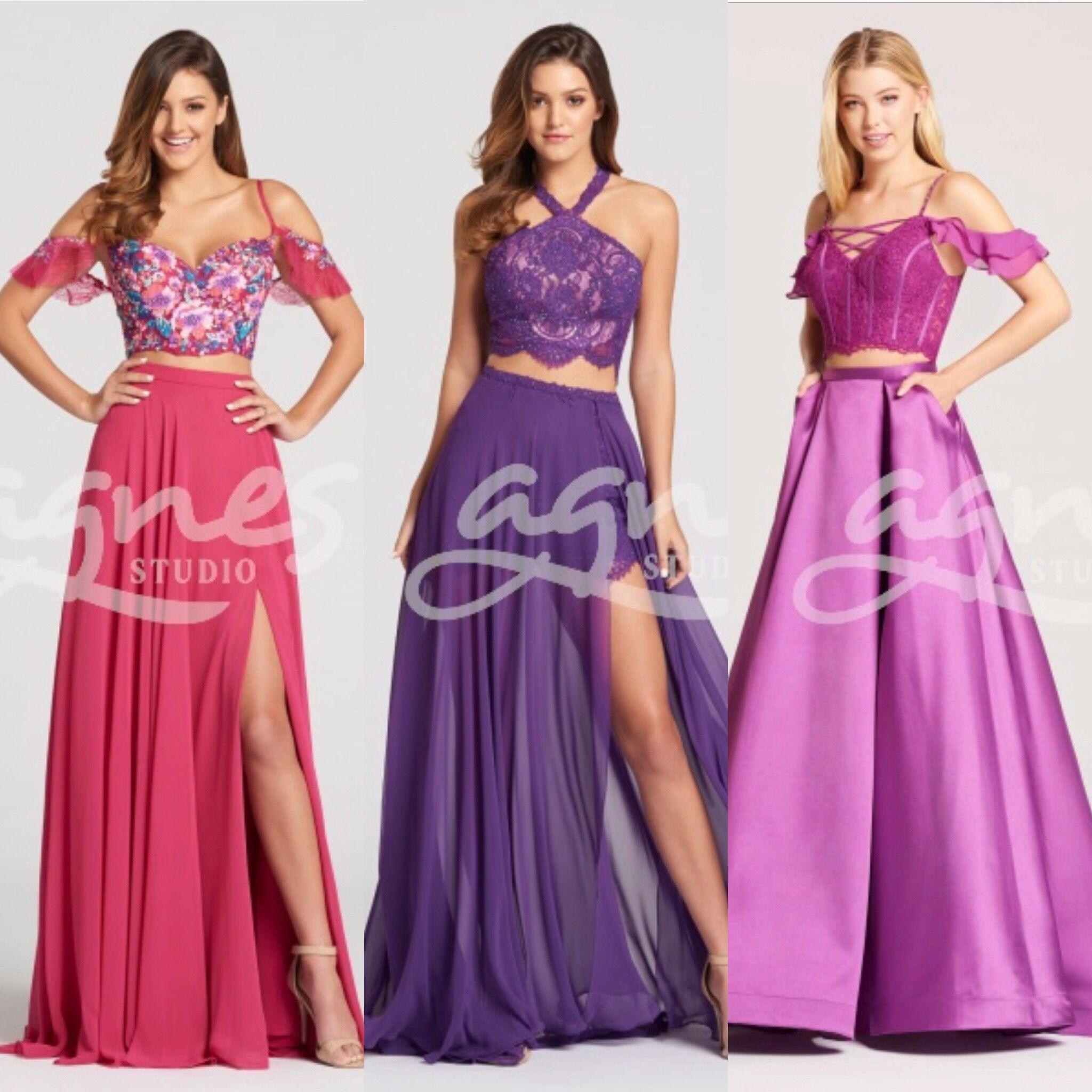 c7870d9ba95 Různé druhy dvoudílných společenských šatů