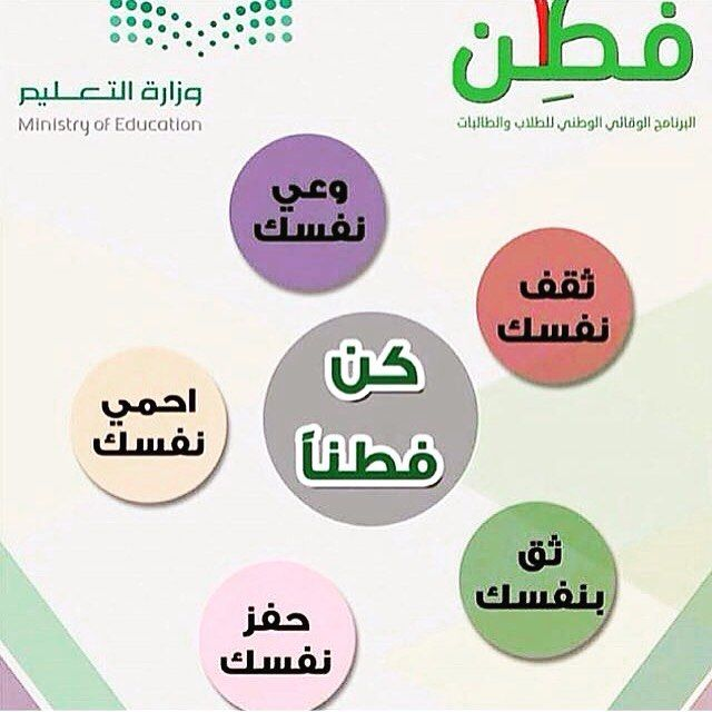 البرنامج الوقائي الوطني للطلاب والطالبات (فطن) - ويكيبيديا