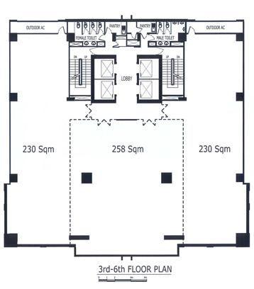 Mini Office Plan Layout 1000m2 Google Search