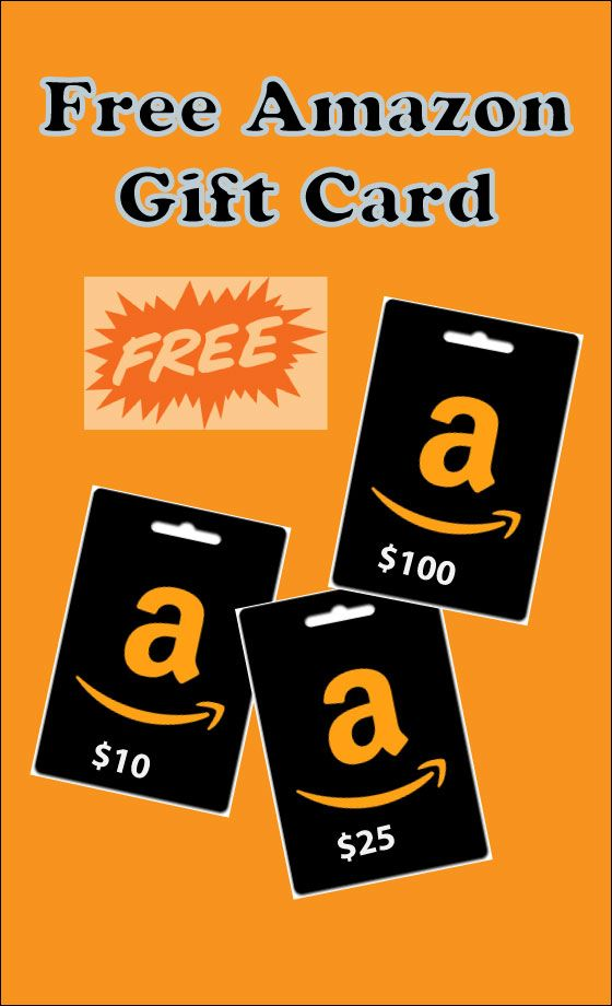 Photo of free amazon gift card giveaway