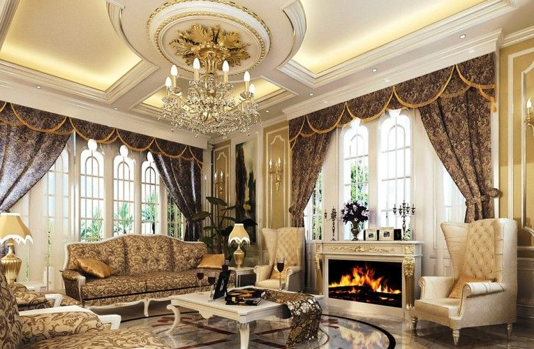 Classic Living Rooms Interior Design Classic Living Room Interior Luxury Design Ideas With Fireplace