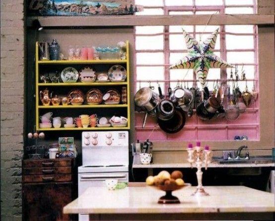 49 colorful boho chic kitchen designs bohemian kitchen bohemian kitchen decor kitchen interior on boho chic kitchen decor bohemian interior id=11485