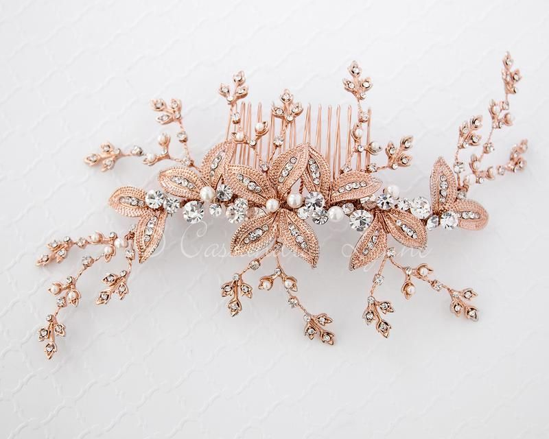 b0d11ebda Wedding Hair Pin with Elegant Marquise Jewels in 2018   Hair Do's ...