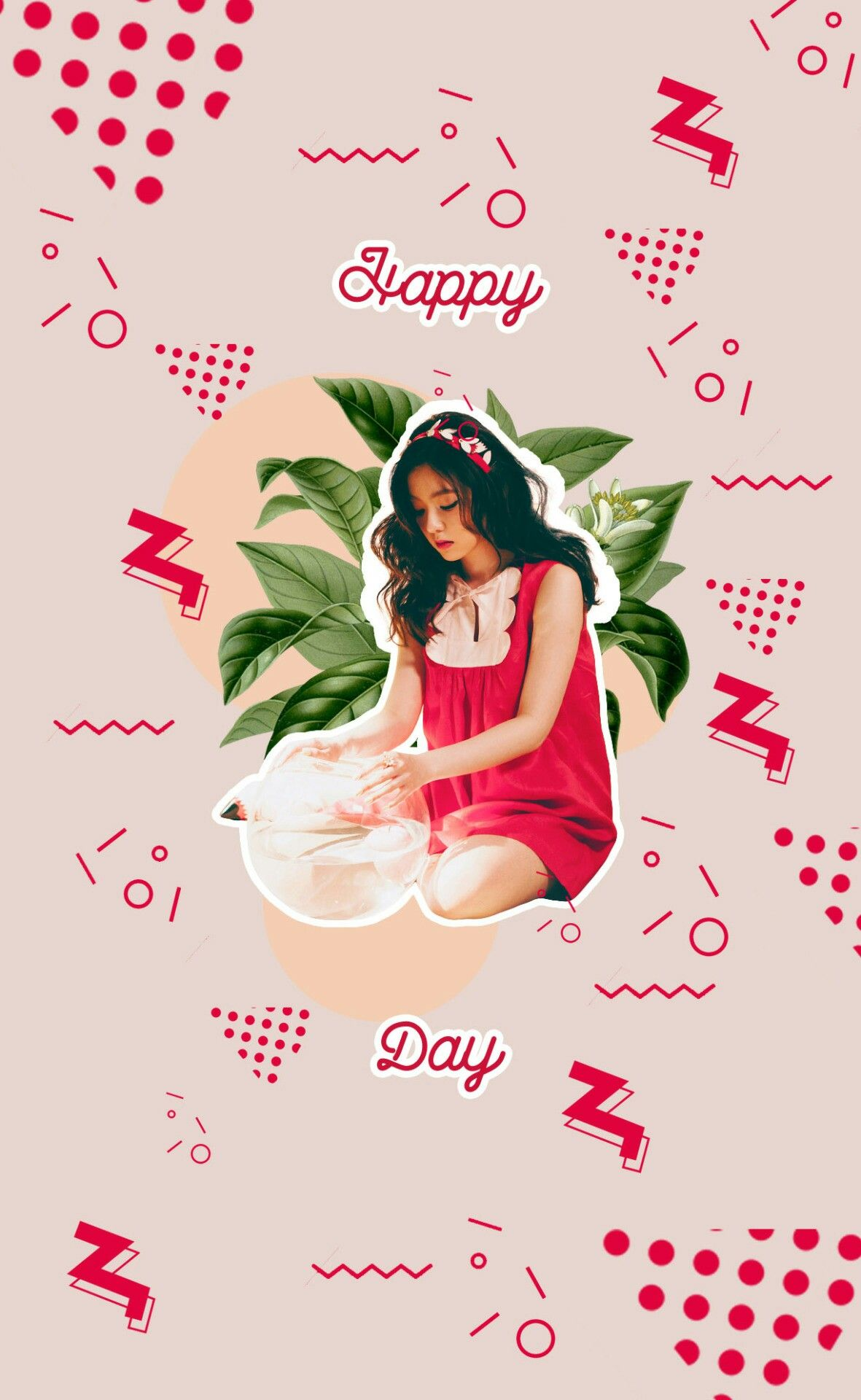 Red Velvet Happy Irene Day Tumblr Edit Art Red Velvet Velvet Red