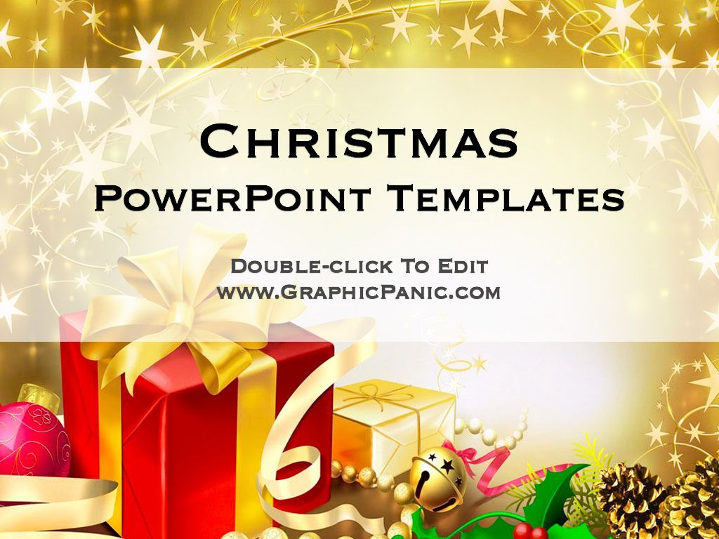 Christmas PowerPoint Template – Christmas Powerpoint Template