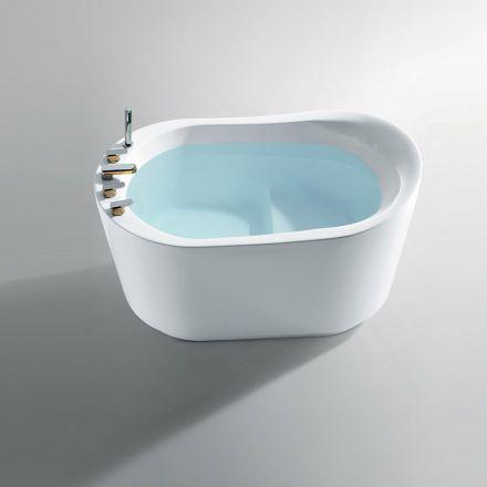 baignoire ilot sabot 130x80 cm petite