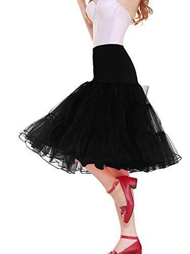 890207c6b50b Vianla Women's 50s Vintage Rockabilly Petticoat,26