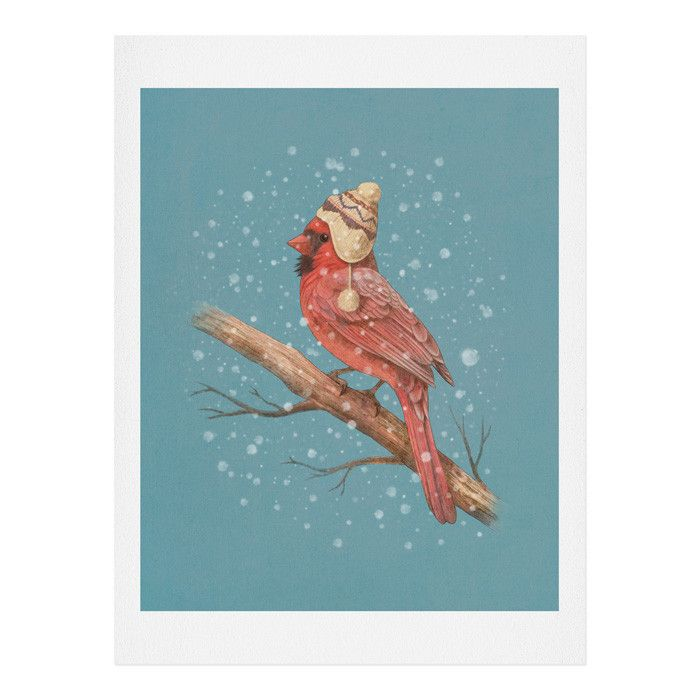 Terry Fan First Snow Art Print | DENY Designs Home Accessories