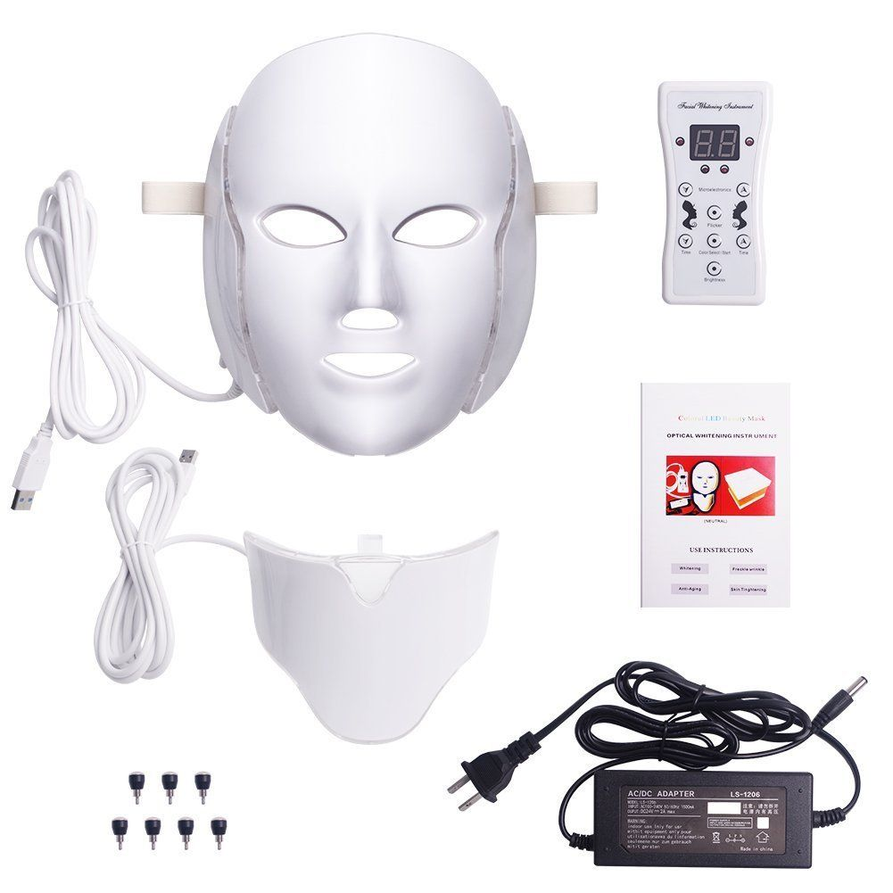 Colors Led Light Photon Neonglowing Facial Light Skin Rejuvenation