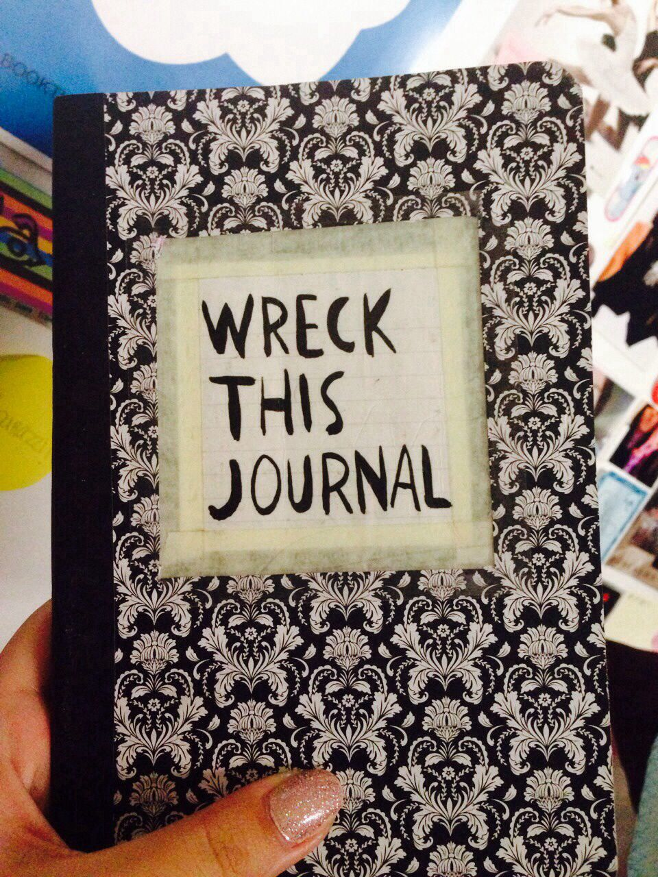 Wreck This Journal Cover Wreck This Journal, Fl...