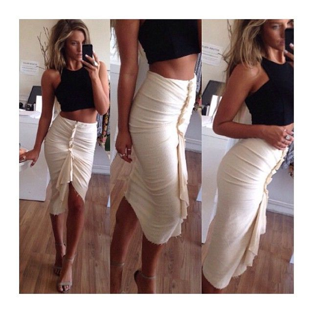 In love with our becandbridge 'Entrained Skirt' now