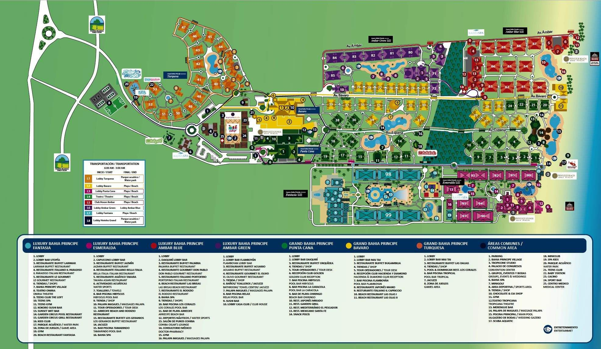 Grand Bahia Principe Punta Cana Map Map Layout Grand Bahia Principe Complex | punta cana in 2019