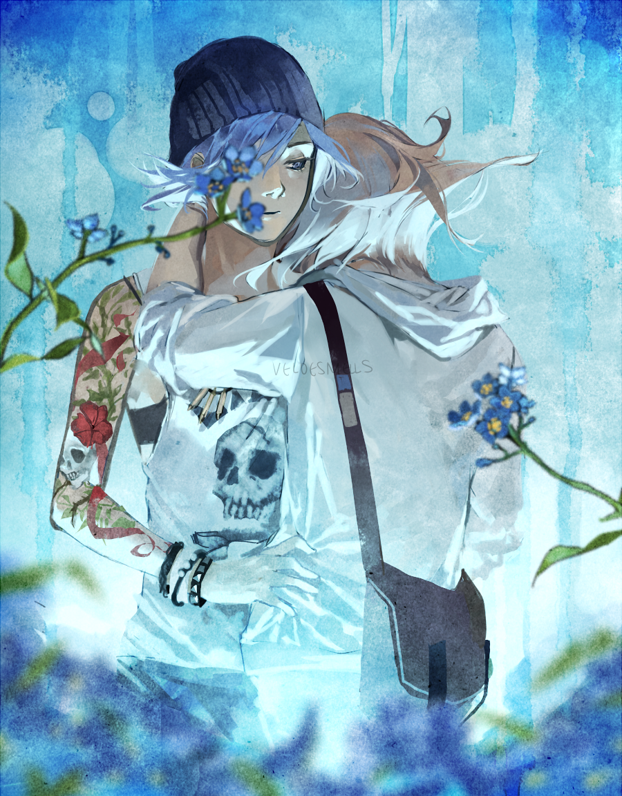 Forget me not by Xiao Tong Kong/Veloce from Velocesmells on Tumblr