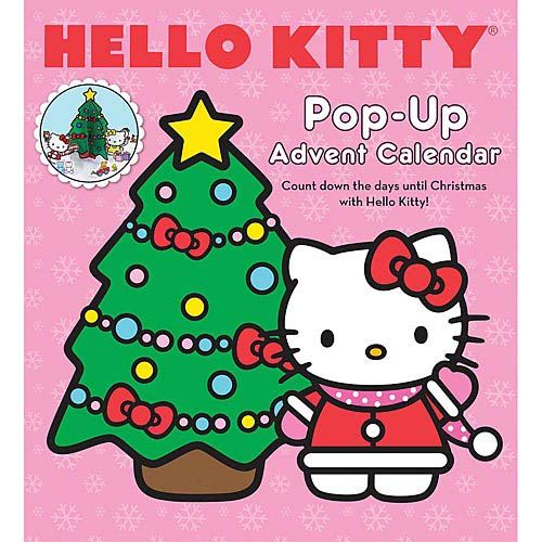 Hello Kitty Pop-Up Advent Calendar Best 2017 Calendars for Just