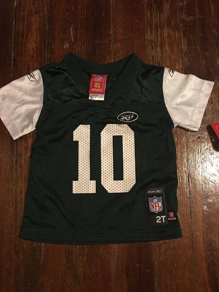 KIDS SIZE 2T REEBOK NFL PENNINGTON JERSEY NEW #Reebok #NewYorkJets