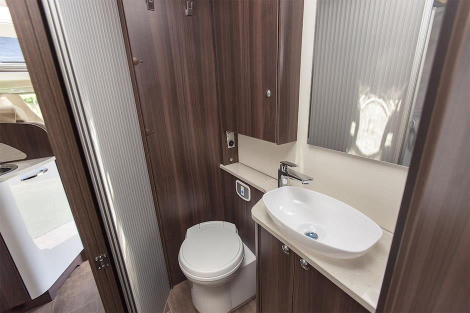 Inside The Burstner Nexxo T European Motorhome For Sale Bathroom Quality Workmanship Is Evident