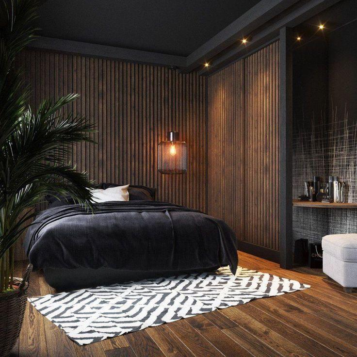 35 Moderne, rustikale Design-Ideen für das Hauptschlafzimmer, die Sie ausprobieren müssen - G...