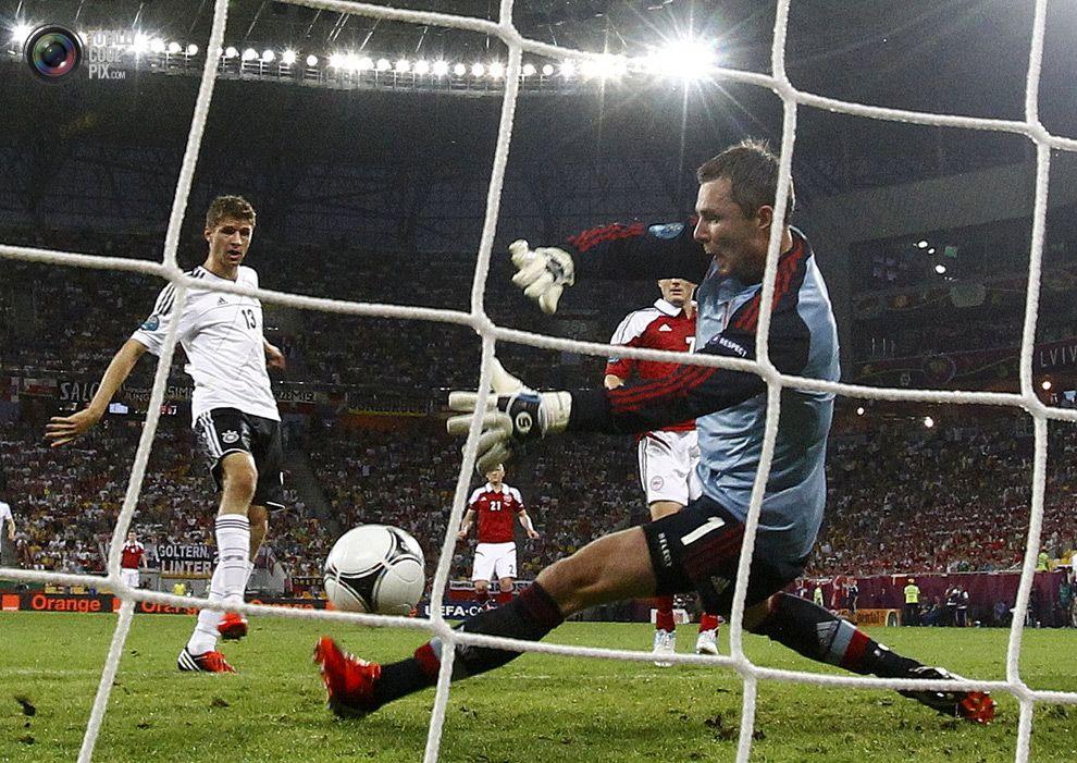 Andersen Euro 2012: Denmark vs Germany