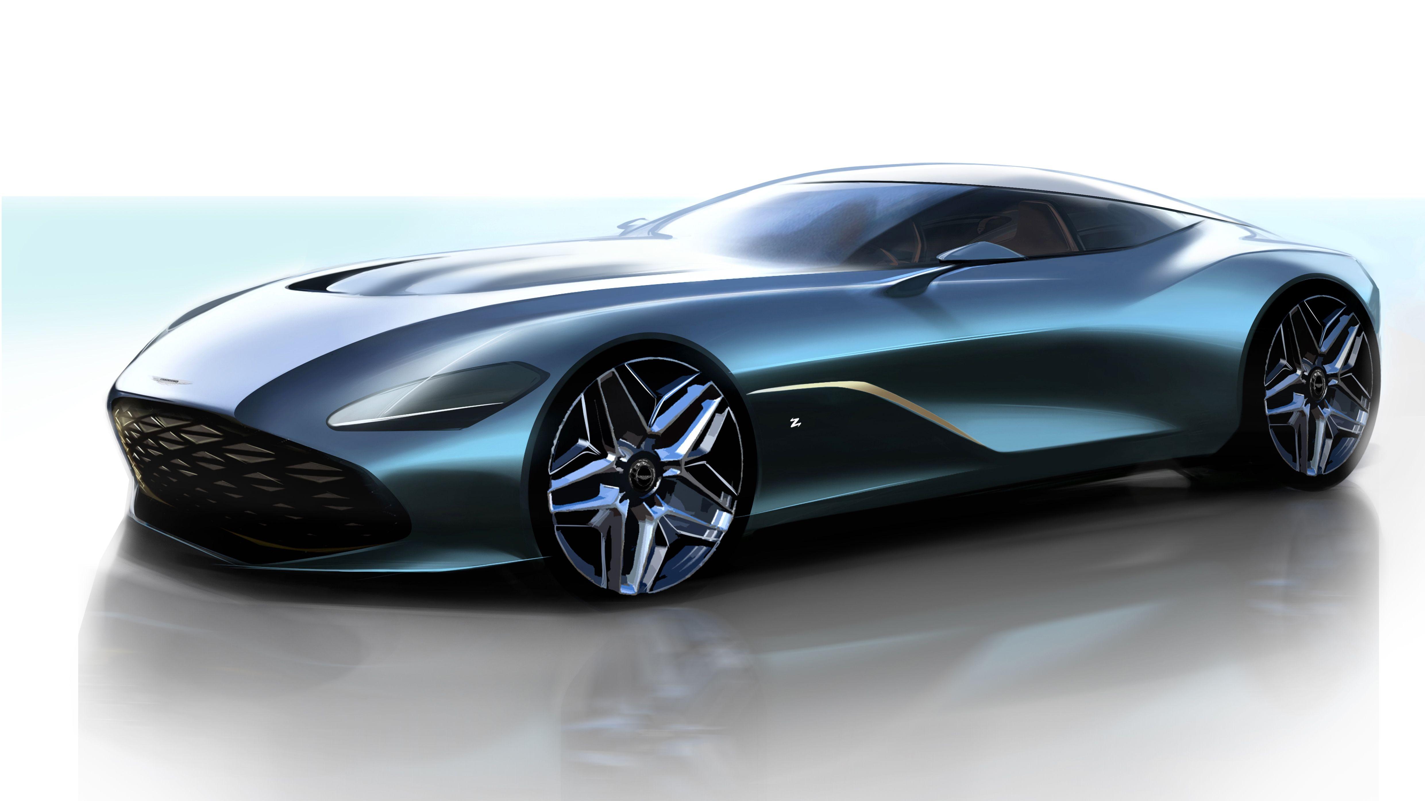 Zagato S Centenary Aston Martin Looks Stunning In First Renders Top Speed Aston Martin Dbs Aston Martin Cars Aston Martin