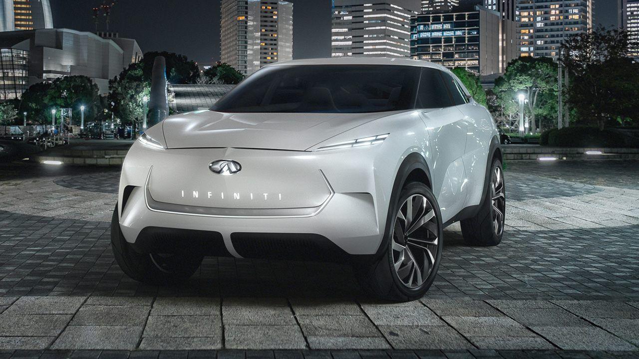 Infiniti Qx Inspiration Previews Is Upcoming Tesla Fighting Electric Suv New Suv Infiniti Suv