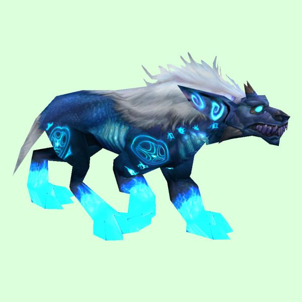 Blue Runed Demon Dog Demon Dog Pets Dogs