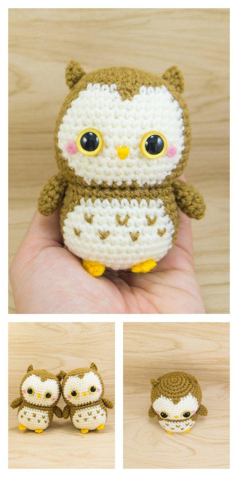 Baby Owl Free Pattern Crochet Amigurumi ⋆ Crochet Kingdom   1536x768