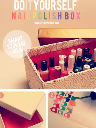 How to store my nail polish so i dont have to dump out the whole how to store my nail polish so i dont have to dump out the whole box just to find one color from 5 more things youre still doing wrong the blush solutioingenieria Choice Image