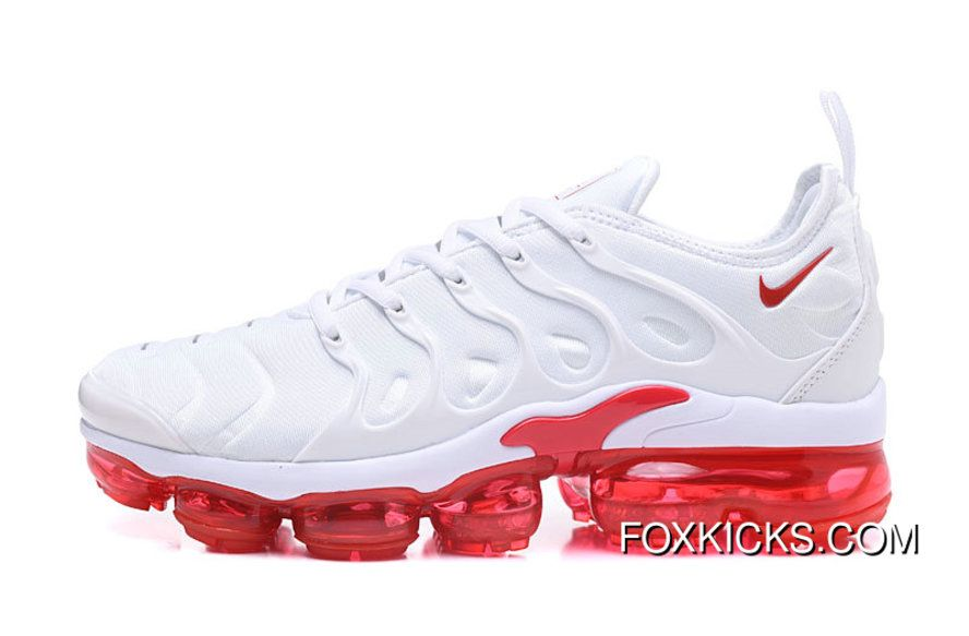 cc228e2f71e1f8 2018 Nike Lab Air Vapor Max X Nike Air Vapormax Plus Triple White Fire Red  For