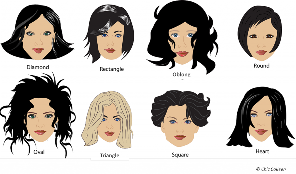 Hairstyles Suit Your Face Shape Short Hair Styles
