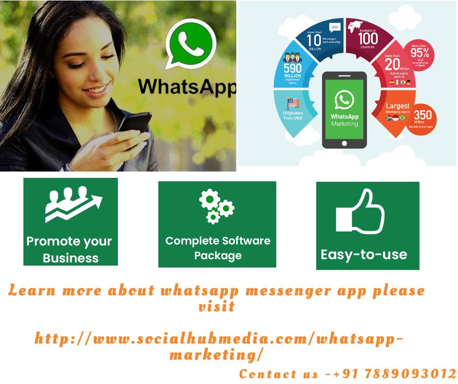 Bulk Whatsapp Marketing Whatsapp Marketing Messenger Services Whatsapp Messenger