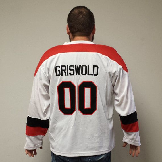 It s not Christmas without the Griswolds! - Clark Griswold 00 Hockey Jersey  Christmas Vacation by MyPartyShirt 56ea3e2a53a