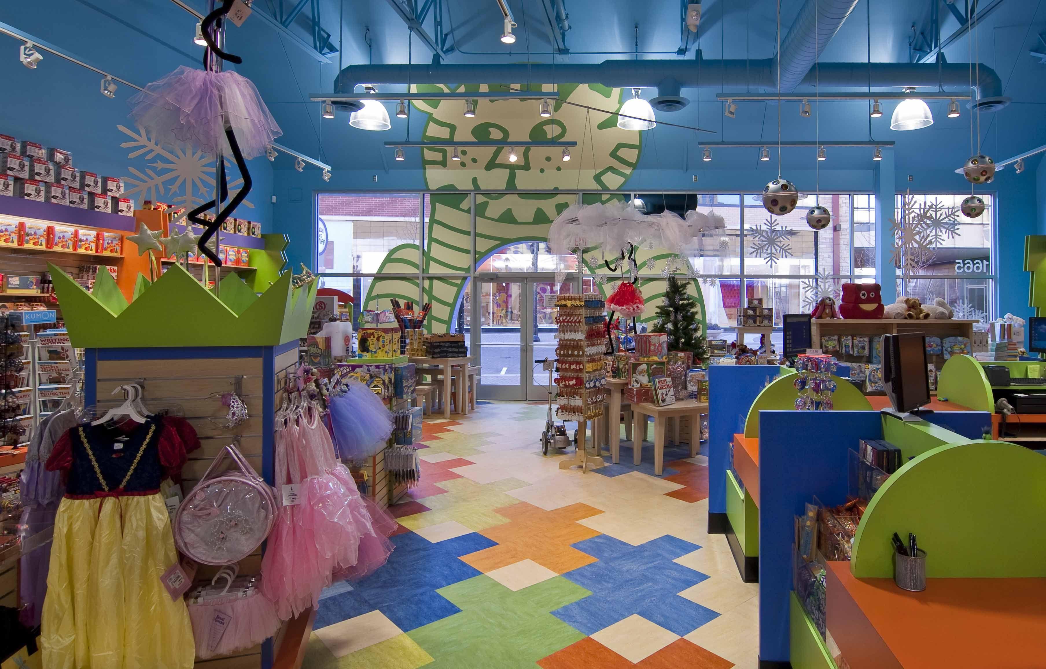 Creative kidstuff alliiance toy store design creative