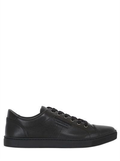 5edf3ba9d6ae3 DOLCE   GABBANA London Leather Tennis Sneakers