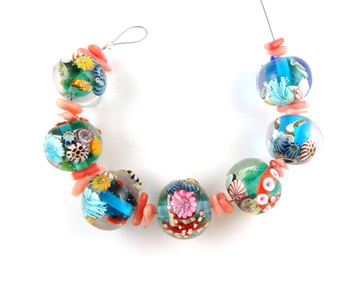 corinabeads lampwork beads by corina tettinger