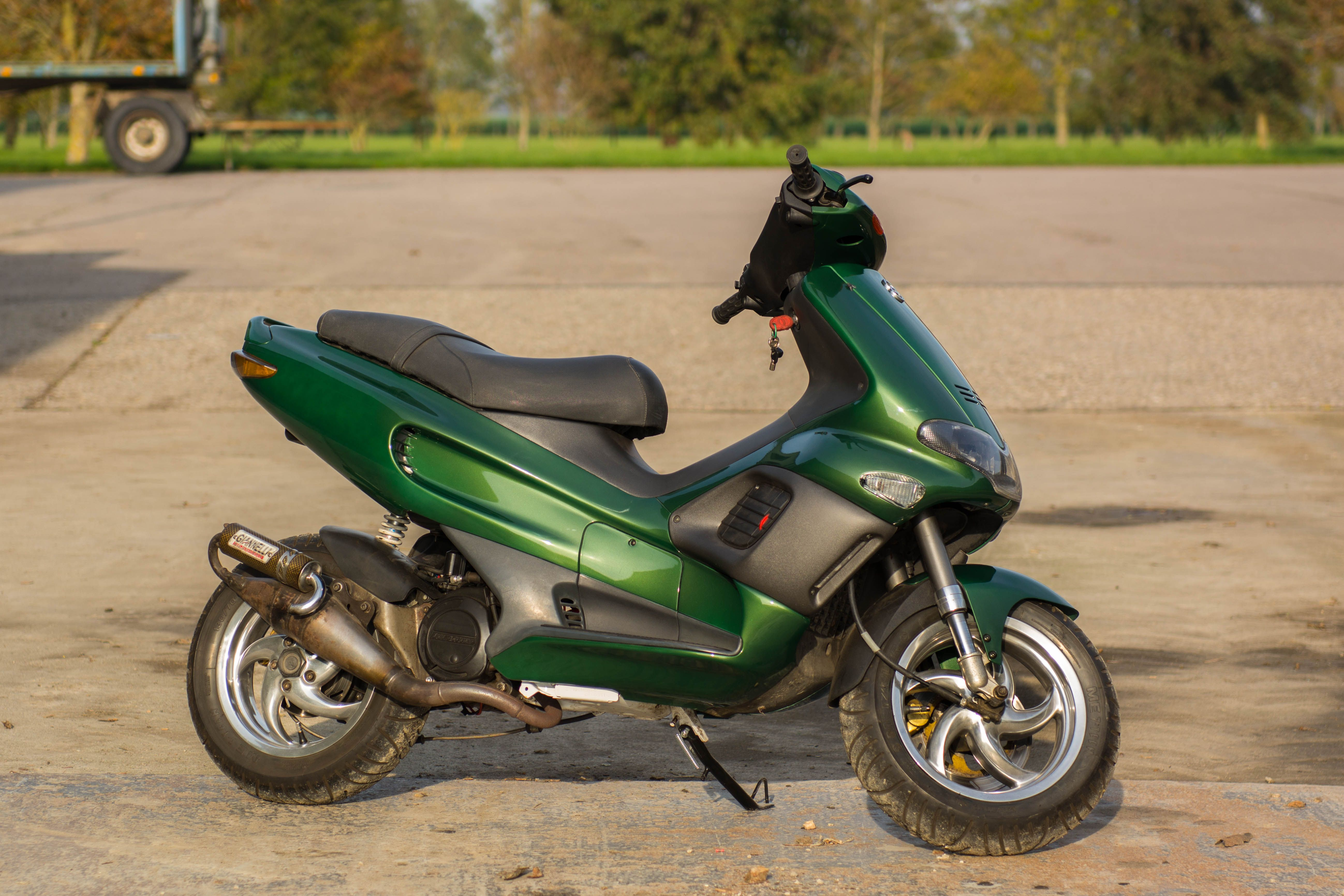 Gilera Runner Sp Moped Motorcycle Vehicles