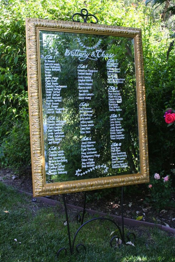 WEDDING SEATING CHARTS IDEAS - Glitter \ Lace Wedding Blog - wedding charts