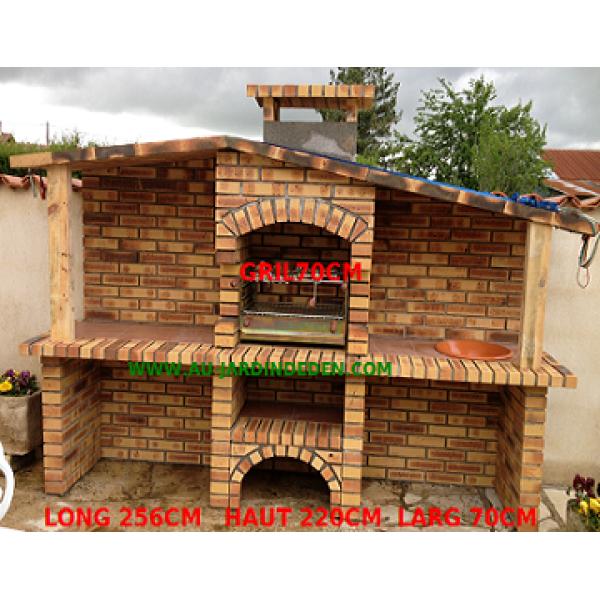 barbecue en brique leopard ludo 152 salle de bains pinterest salle de bains et salle. Black Bedroom Furniture Sets. Home Design Ideas
