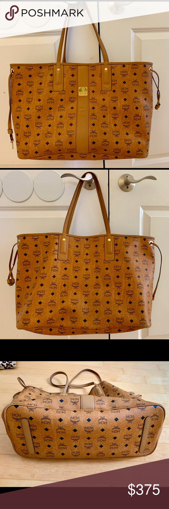 031fa4dc5 MCM Large Liz Tote w/Dust Bag 100% Authentic. Very gently used. No ...