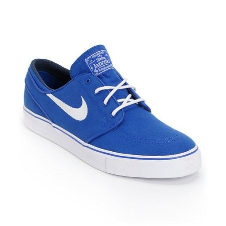 A classic since it first dropped the Nike Zoom Stefan Janoski skate shoe in  the Old Royal blue and White Midnight colorway. The Stefan Janoski  signature ...