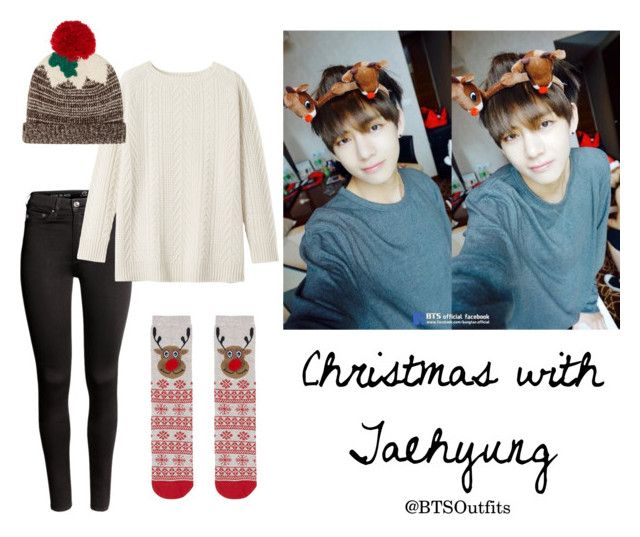 """Christmas with Taehyung"" by btsoutfits ❤ liked on Polyvore featuring H&M, Toast, Dorothy Perkins and Topshop"