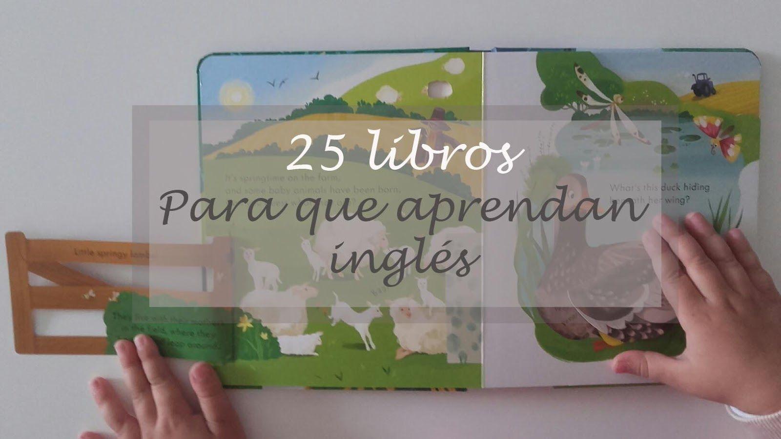 Diseñando a mamá: 25 Libros para que aprendan inglés