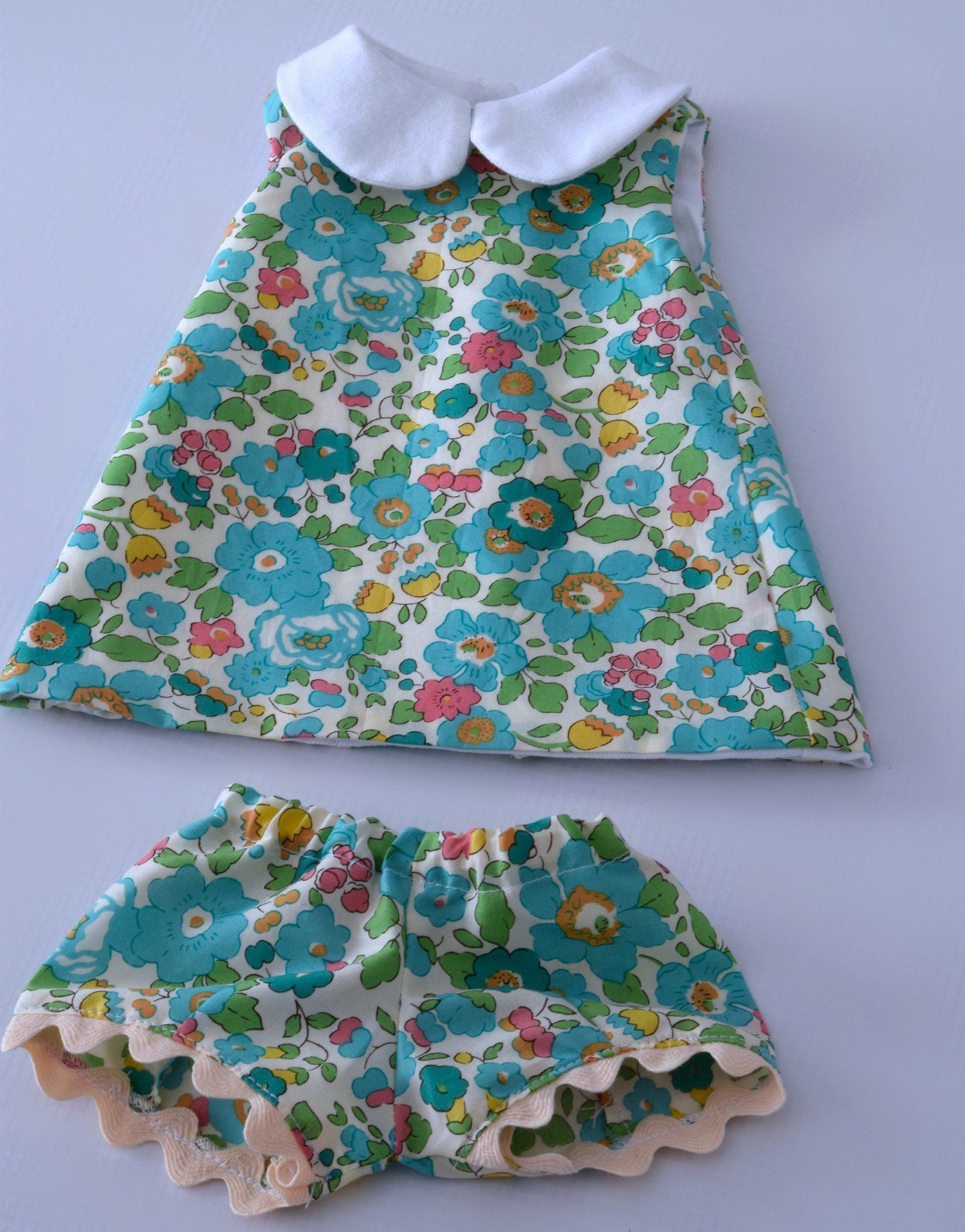 Handmade doll clothes. Some of the doll clothing I have made. #dollclothes