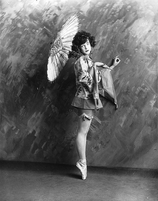 """""""Miss Finney dancing"""", Montreal, Quebec, Canada, 1923"""