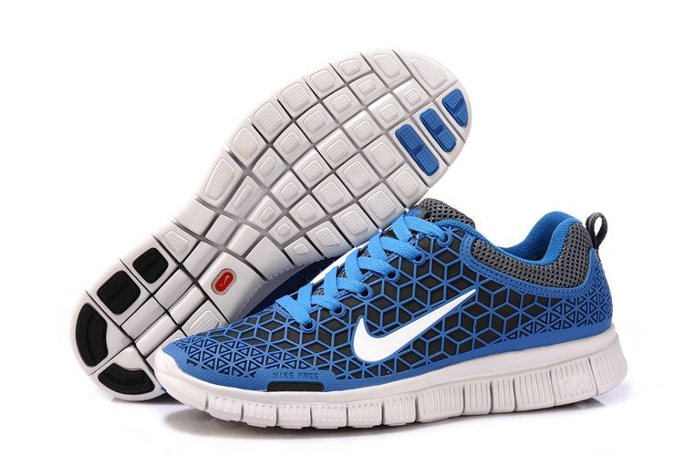 Nike Free 6.0 Spider Leather Blue Black Womens Shoes On Sale